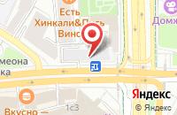 Схема проезда до компании Астон в Москве