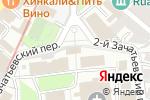 Схема проезда до компании Зачатьевский ставропигиальный женский монастырь в Москве