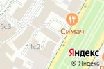 Схема проезда до компании Неприкосновенный запас в Москве
