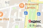 Схема проезда до компании Промсбербанк в Москве