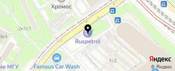 РусПетрол на карте Москвы