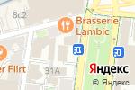 Схема проезда до компании Дельфес в Москве