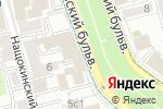 Схема проезда до компании Новый поток в Москве