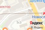 Схема проезда до компании Leader Media в Москве