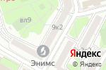 Схема проезда до компании Новое Поколение в Москве