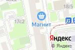 Схема проезда до компании Московская парикмахерская в Москве