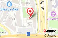 Схема проезда до компании Русстройнефтегаз в Москве