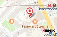 Схема проезда до компании Мобайл Трейд в Москве