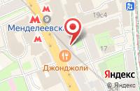 Схема проезда до компании Профтрейд в Москве