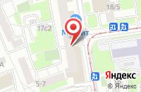 Схема проезда до компании Одал-Вектор в Москве