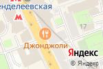 Схема проезда до компании Джон Джоли в Москве