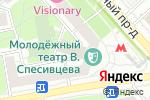 Схема проезда до компании Dentalight в Москве