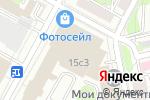 Схема проезда до компании Невероятная коллекция в Москве