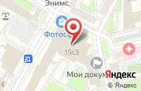 Схема проезда до компании Сообщество Частных Охранных Структур в Москве