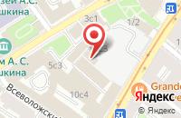Схема проезда до компании Тби Компания в Москве