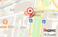 Схема проезда до компании Стиль Большого Города в Москве