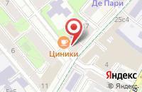 Схема проезда до компании Деликар в Москве