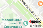 Схема проезда до компании Банк Новый символ в Москве