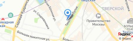 Недальний Восток на карте Москвы
