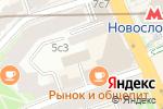 Схема проезда до компании Азкон в Москве