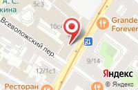 Схема проезда до компании Центр Изучения Общественных Прикладных Проблем Александра Жилина в Москве