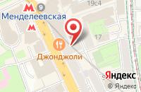 Схема проезда до компании Вентор Строй в Москве