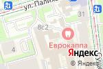 Схема проезда до компании КБ ОПМ-Банк в Москве