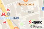 Схема проезда до компании Matis Travel в Москве