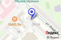 Схема проезда до компании НПП ПОТЕНЦИАЛ в Москве