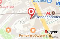 Схема проезда до компании Издательство Медиарама в Москве