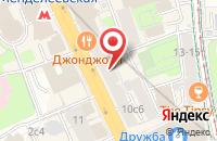 Схема проезда до компании Неоксин в Москве