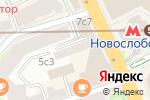 Схема проезда до компании Монолит-Экспо в Москве