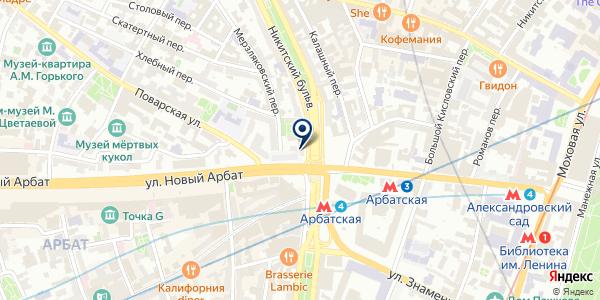 СУПЕРМАРКЕТ ДАГИШ на карте Москве