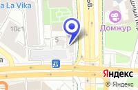 Схема проезда до компании ТФ НИКИ-СУПЕР в Москве