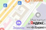 Схема проезда до компании Nano TV в Москве