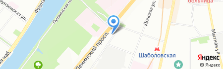 Клуб Арт Экстрим на карте Москвы