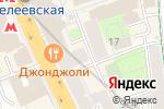 Схема проезда до компании Nail Story в Москве
