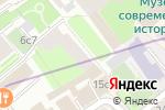 Схема проезда до компании Краски в Москве