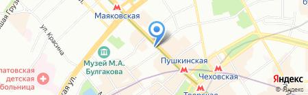 Банкомат КРЕДИТ ЕВРОПА БАНК на карте Москвы