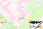 Схема проезда до компании Городская клиническая больница №1 им. Н.И. Пирогова в Москве