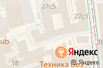 Схема проезда до компании Upsidecom в Москве