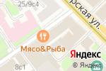 Схема проезда до компании Vornex в Москве