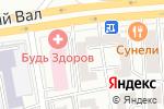 Схема проезда до компании Фабрика Окон в Москве