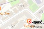 Схема проезда до компании Карамelle в Москве