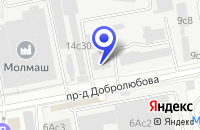 Схема проезда до компании ТФ ЕВРОКРЕПЕЖ в Москве