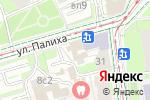 Схема проезда до компании Алый парус в Москве