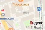 Схема проезда до компании Musang coffeeshop в Москве