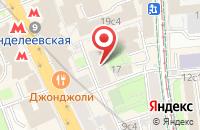 Схема проезда до компании 5р-Сервис в Москве
