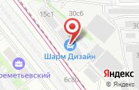 Схема проезда до компании Шанамир-Оптим в Москве