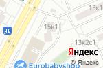 Схема проезда до компании НАГОРНЫЙ в Москве